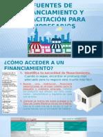 Fuentes de Financiamiento y Capacitación Para Empresarios