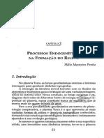 Processos Endogenéticos Na Formação Do Relevo