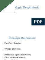 2a.Fisiologia Respiratória