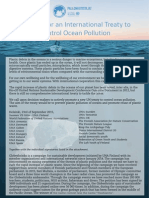 Petition for an International Treaty to control Ocean Pollution