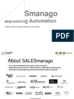 Marketing Automation/Product Profile, Products, Solutions, Case Studies