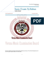 VMEB Music Exam Syllabus
