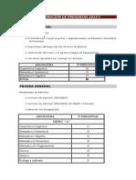 Distribución de Preguntas 2015