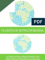 Filosofia de Nutricion Mundial Presentacion Mexico Spanish