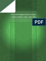 Revista Tecnología y Ciencias de La Salud