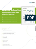 Marketing Automation/The Definitive and Ultimate Guide to Marketing Automation