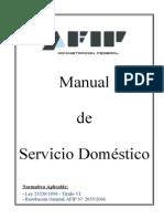 Manual Servicio Domestico