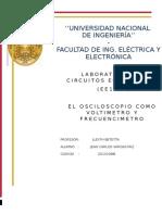 El Osciloscopiio Informe Final
