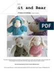 Final Rabbit and Bear Pattern