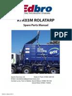 RTK03M Spares Manual_v1 (E5547) Cerada Za Rol Kiper