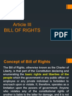 Article III_Bill of Rights