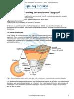Por Qué No Hay Terremotos en Uruguay