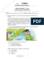 Ficha diagnostica ciencias naturais