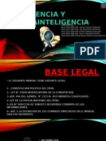 inteligencia y contrainteligencia