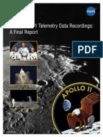 Apollo 11 TV Tapes Report
