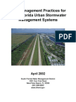 Best Management Practices for South Florida Urban Stormwater Management Systems