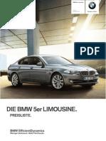 5 LI Pricelist 2013