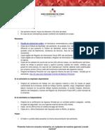 Requisitos Bicentenario Banco Universal