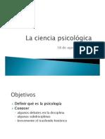 Introducción a las corrientes psicológicas