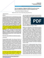 Genotypic and Phenotypic Investigation of Alginate Biofilm Formation Among