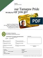 Alumni ID Application Form 2014