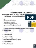 Determinacion de La Temperatura Del Aire Informacion Adicional