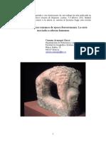 Leones Funerarios Romanos de Poca Iberorromana
