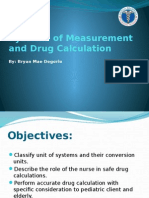 Systems of Measurement and Drug Calculation