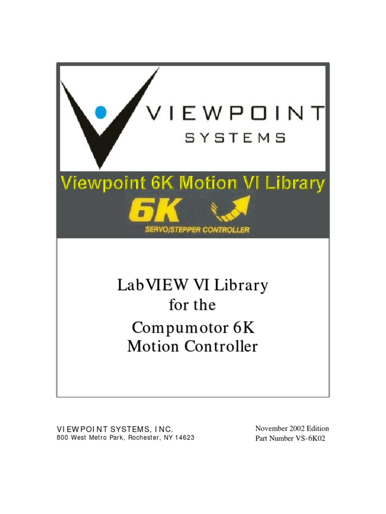 6K VI Motion Library Manual | Rotation Around A Fixed Axis