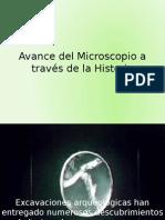 Avance Del Microscopio a Través de La Historia