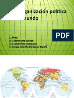 La organización política del mundo