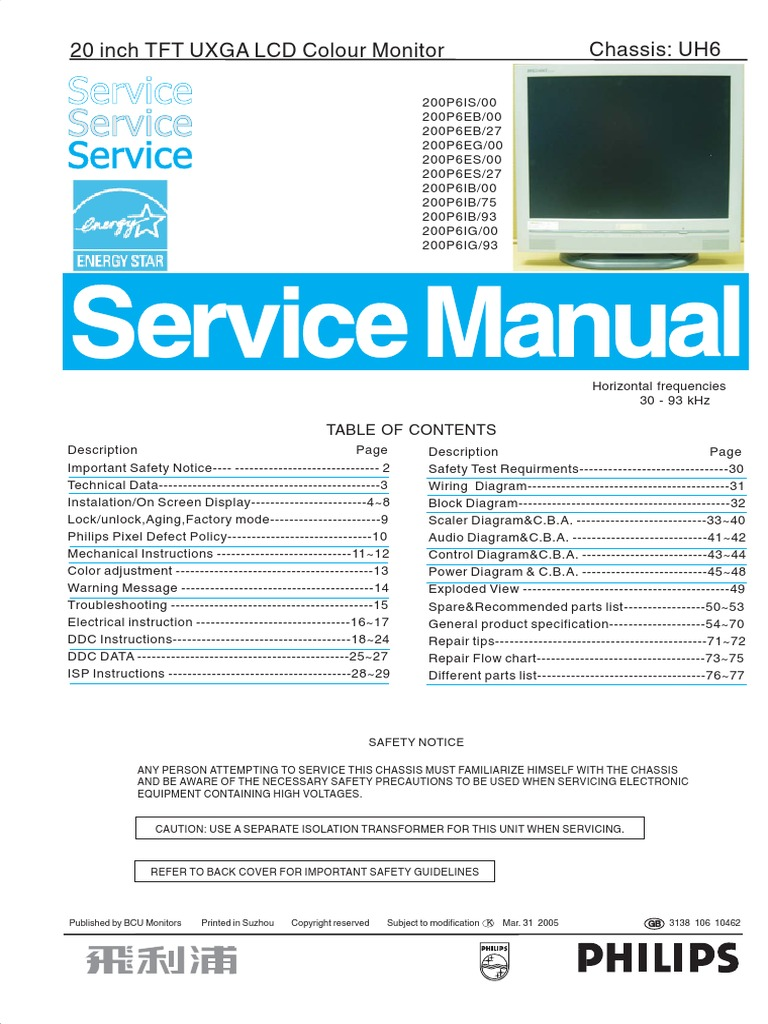 1525359946?v=1 philips 200p6 service manual pixel computer monitor