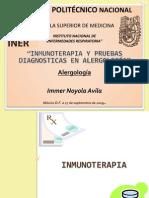 Inmunoterapia Dr. Immer Noyola Avila