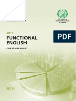 AFC1-Functional English Questionbank