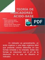 Teoría del indicador ácido-base