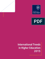 University of Oxford - International Trends in Higher Education 2015