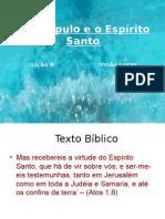 O Discípulo e o Espírito Santo