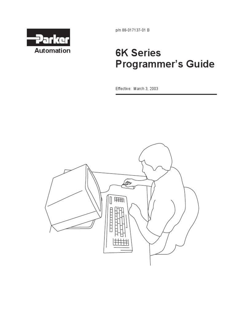 6k programmers guide revb programmable logic controller puter Brake Spline 6k programmers guide revb programmable logic controller puter programming