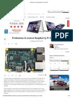 Probamos La Nueva Raspberry Pi 2_ a Fondo