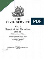 Fulton Committee (I)