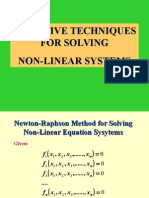 03 Systems of Non Linear Equations