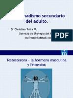 7. Hipogonadismo Secundario Del Adulto - Dr. Christian Safra M.