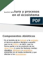Estructura y Procesos en El Ecosistema