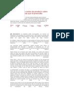 Costos de Producir Cobre en Chile Suben Mas Que El Promedio Mundial a 10 Anos
