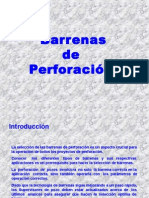 Barrenas de Perforación