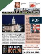 August 2015 Revista De Victoria