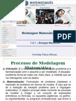 Unidade 1.2.1- Modelagem Matemática Na Física - Energia Mecânica