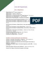Bibliografia Livros Programação