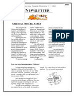 October 2015 Parish Newsletter
