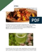 platillos tipicos de estados de mexico